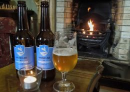 Kinnegar Beach Cottage Rathmullan - eponymous beer at Rathmullan House