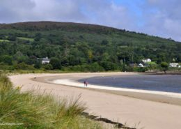 Kinnegar Beach Cottage Rathmullan - the beach