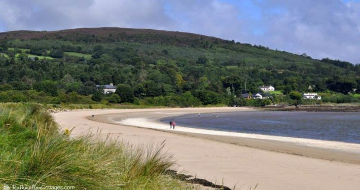Kinnegar Beach Cottage Rathmullan - the beach